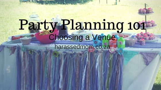 Party Planning HarassedMom
