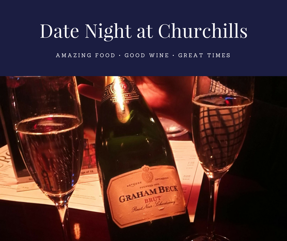 Date Night Vibes at Churchills in Melrose
