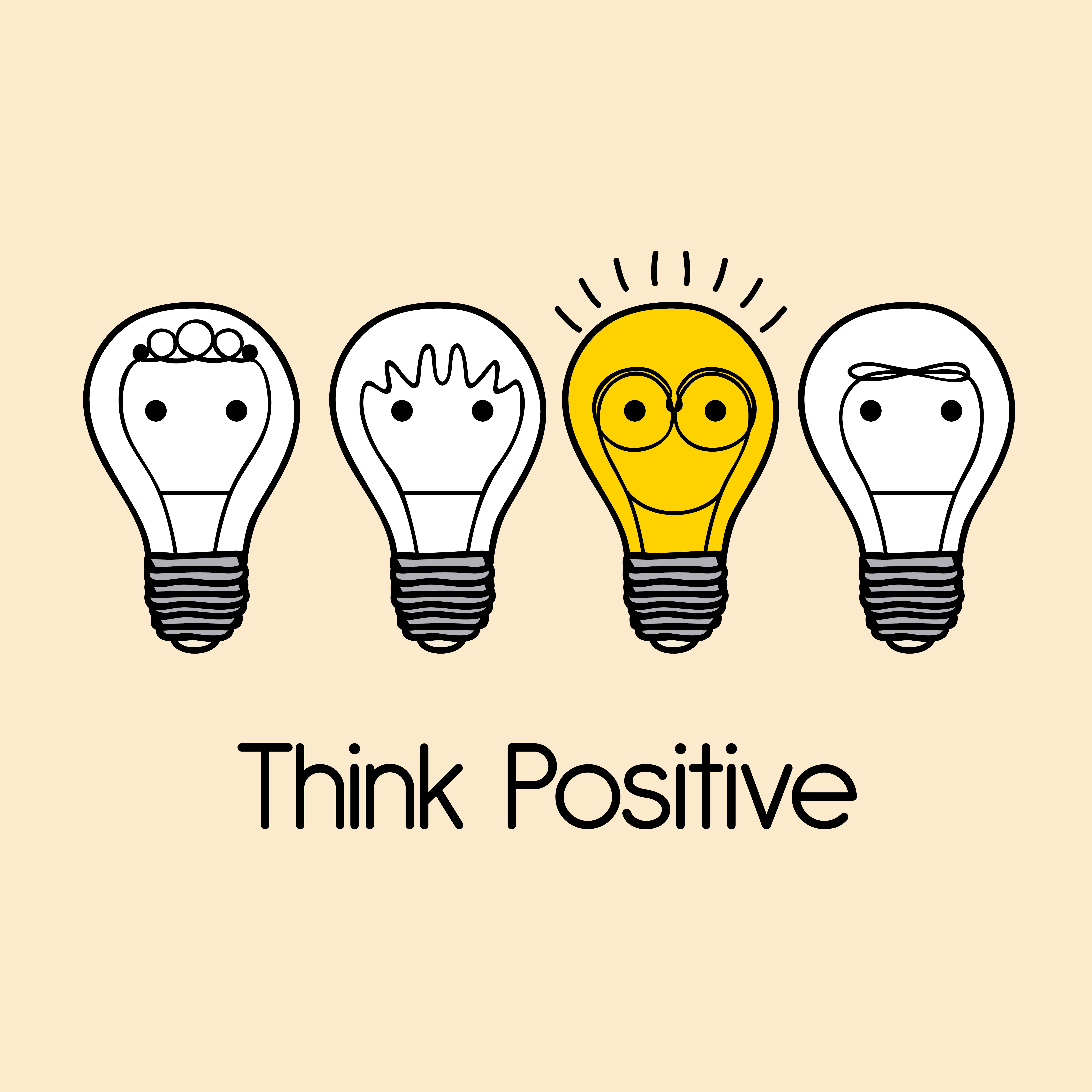 Benefits of Positive Thinking HarassedMom