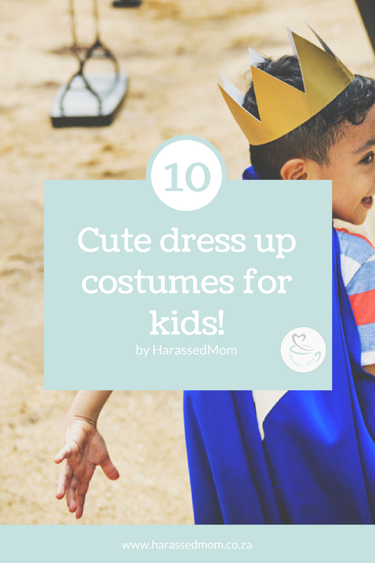 10 Cute Dress Up Costumes For Kids | HarassedMom