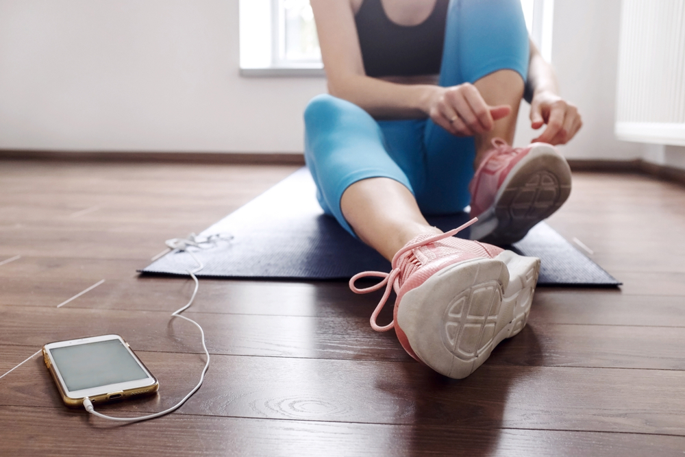 Tips to work out at home | Harassedmom