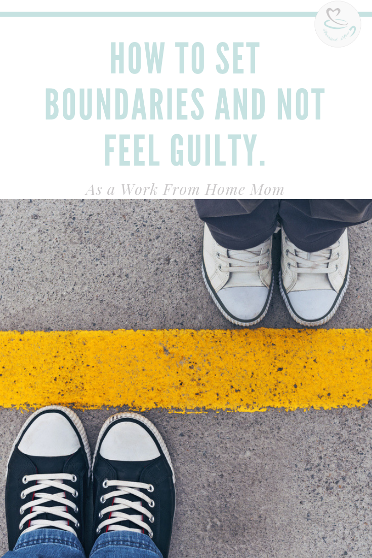 Set boundaries | HarassedMom