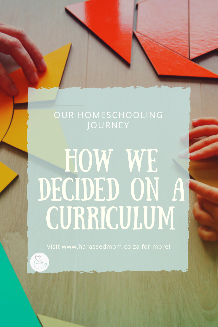 Our Homeschooling Journey - How We Decided On A Curriculum | HarassedMom