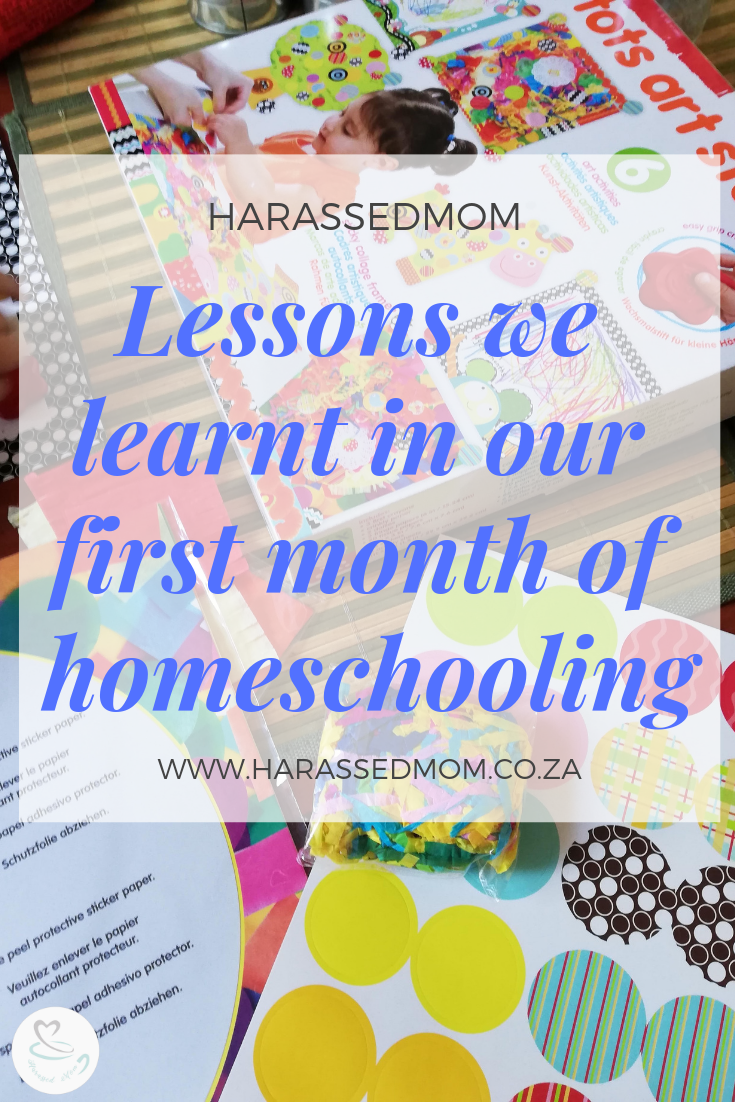 Our First Month of Homeschooling   HarassedMom