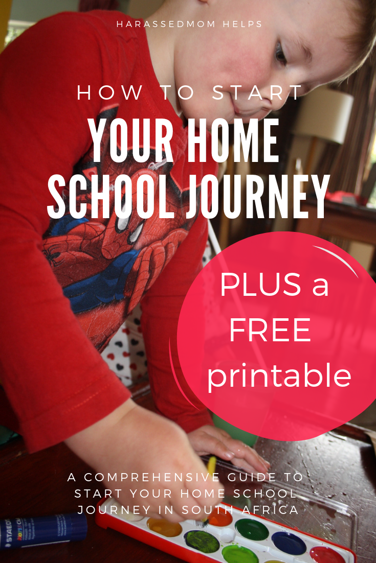 How to start your home schooling journey in South Africa - a comprehensive guide.