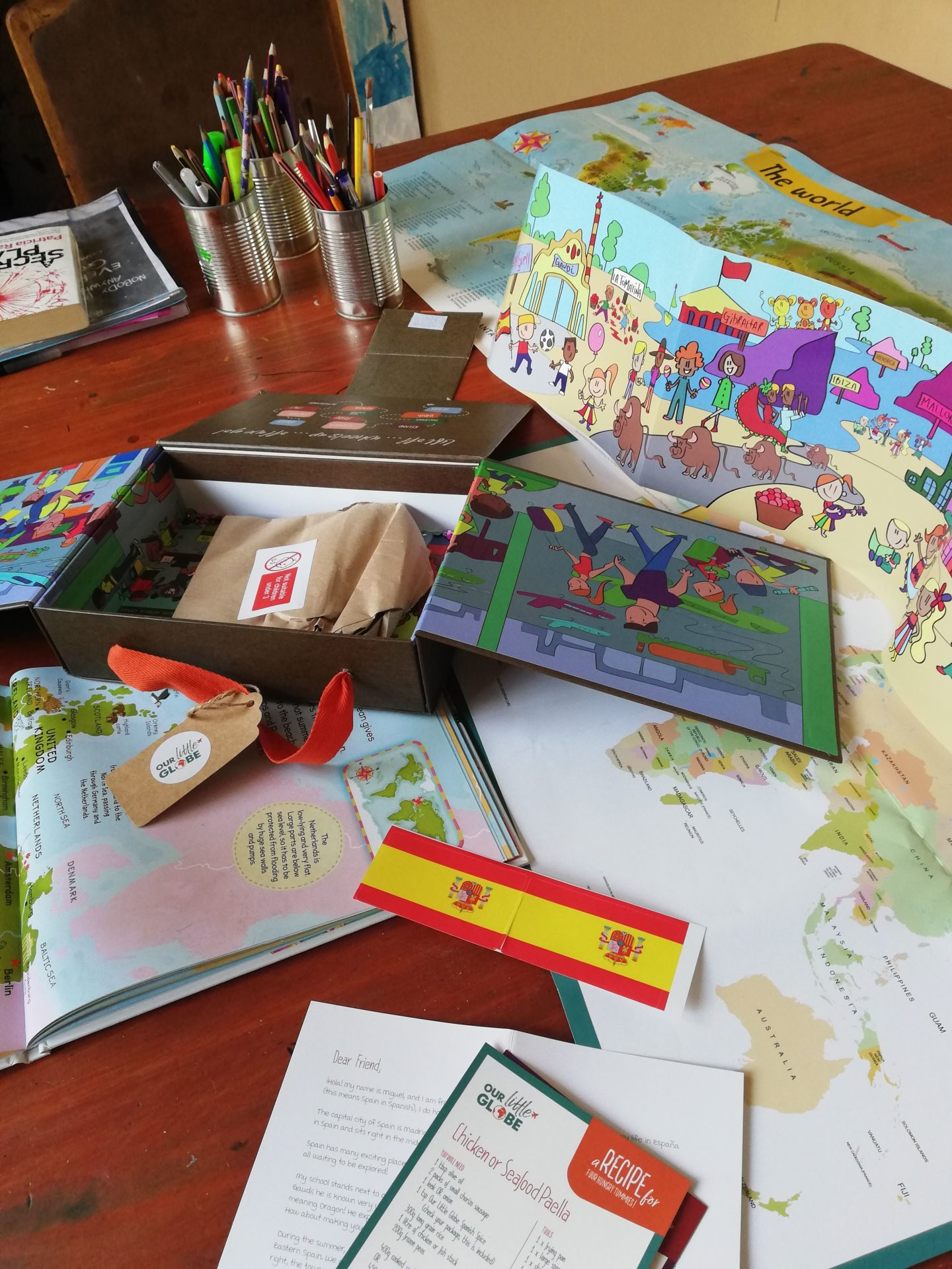 Our Little Globe Subscription Box | HarassedMom