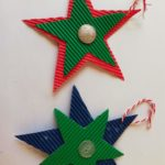 DIY Christmas Stars - perfect for kids to make | HarassedMom