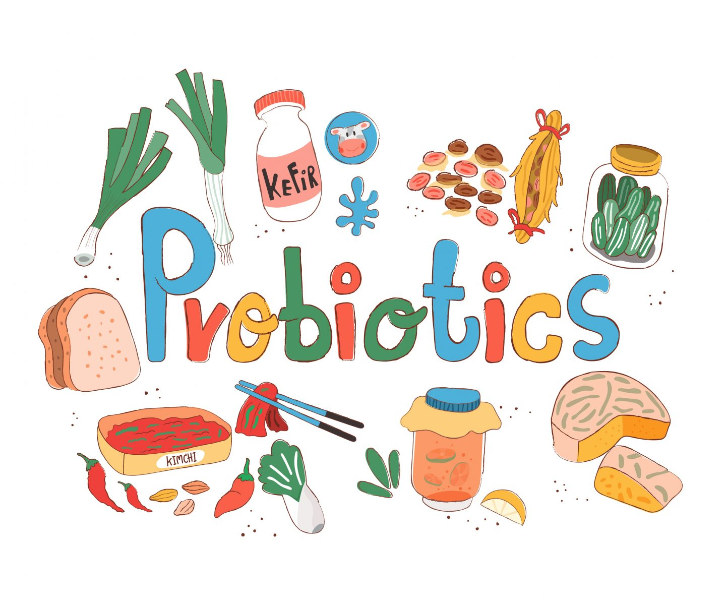 The benefits of Probiotics for your children