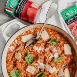Tomato Risotto for Mothers Day | HarassedMom